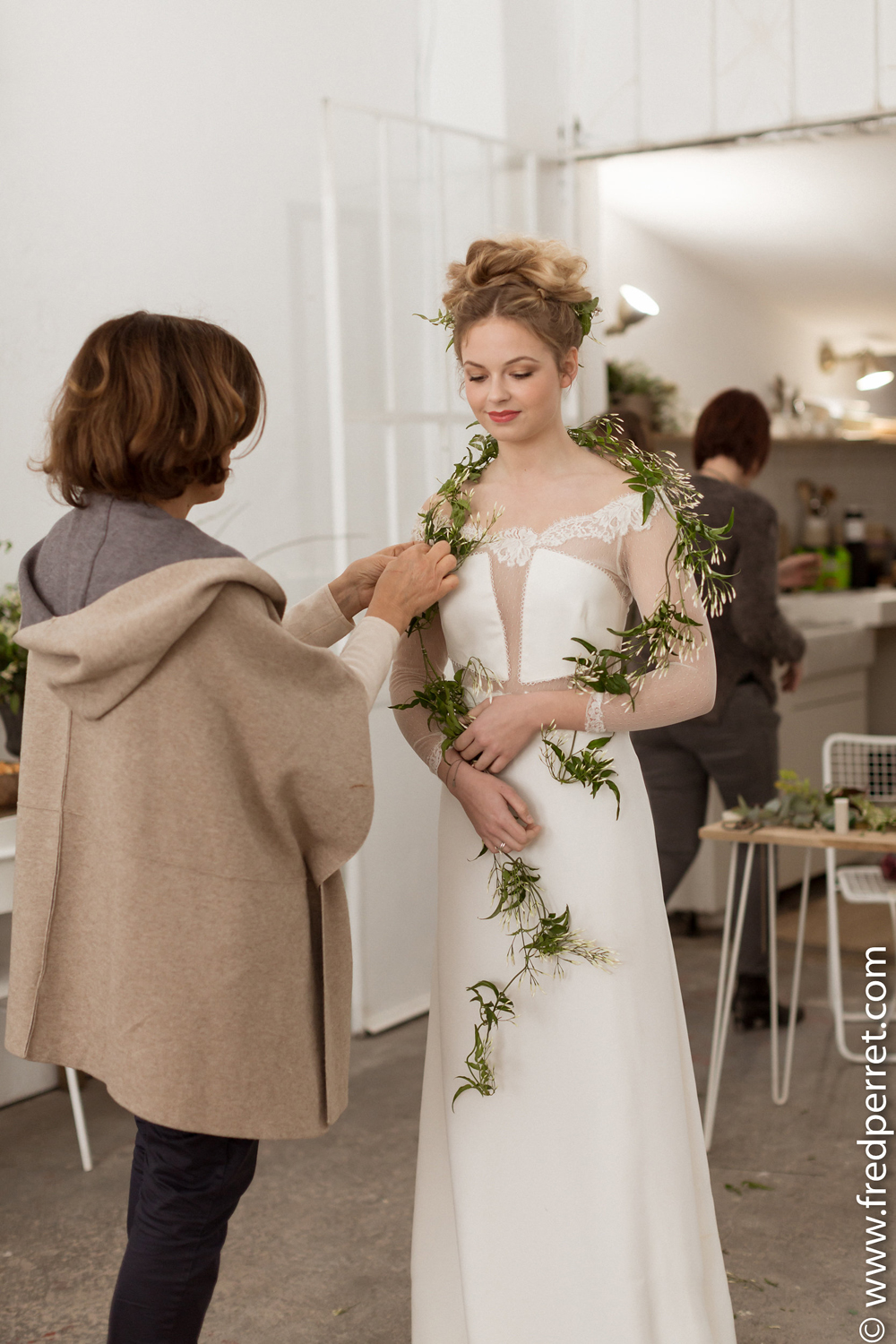 Decoration Florale Fleursdefee Workshop Mariage Amelie Gouttenoire 15